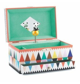Djeco Panda's Song Musical Jewellery Box