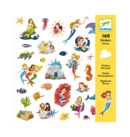 Djeco Mermaids Stickers