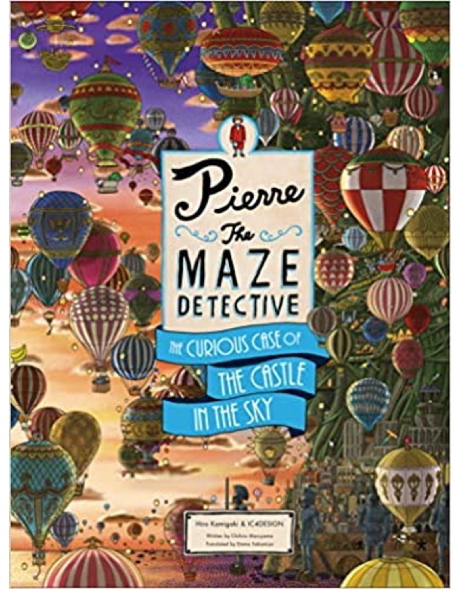 Raincoast Books Pierre The Maze Detective: The Curious Case Of The Castle In Thesky