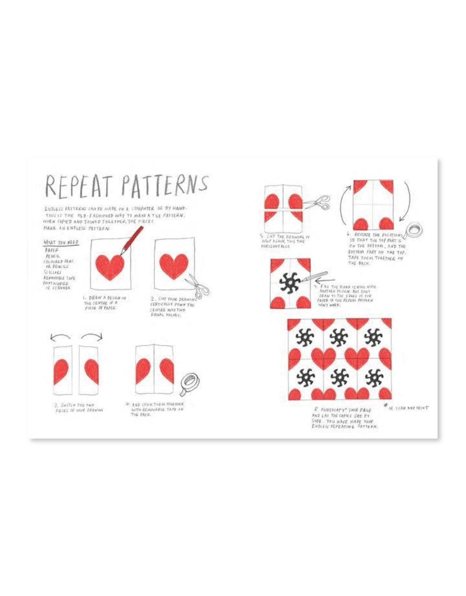 Raincoast Books Let's Make Some Great Art: Patterns