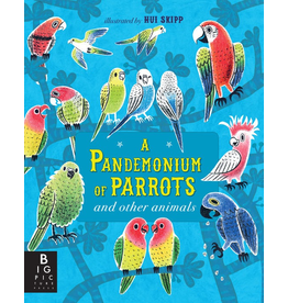 Penguin Random House A Pandemonium Of Parrots And Other Animals   By Kate Baker  Illustrated By Hui Skipp
