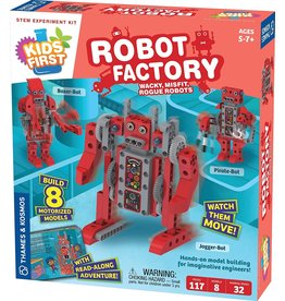 Thames & Kosmos Kids First Robot Factory: Wacky  Misfit  Rogue Robots