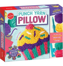 Klutz Punch Yarn Pillow By Klutz