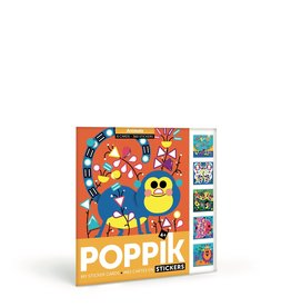 Poppik Animals Sticker Puzzles