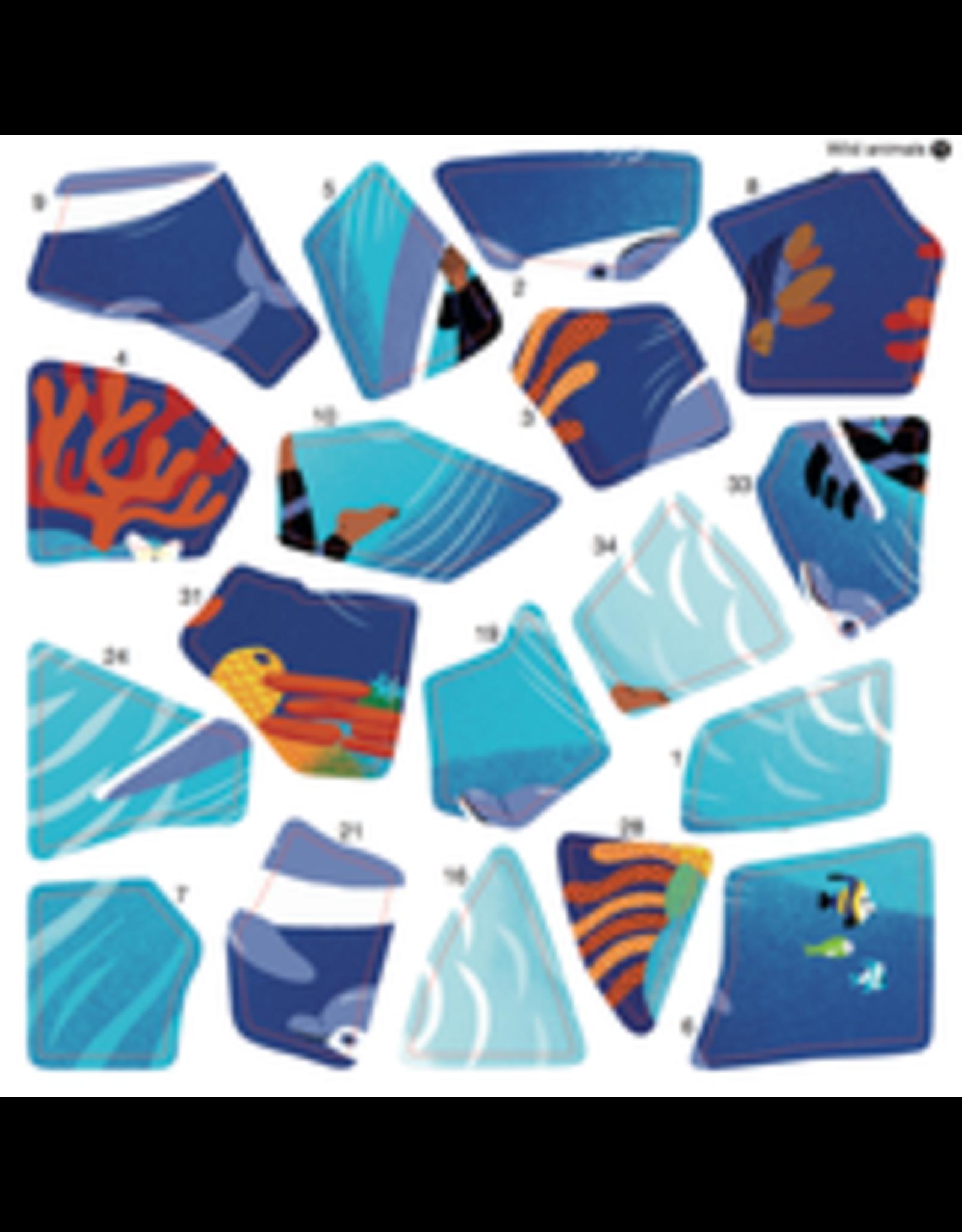 Poppik Wild Animals Sticker Puzzles