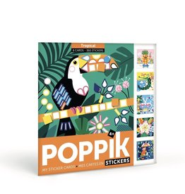 Poppik Tropical Sticker Puzzles By Poppik