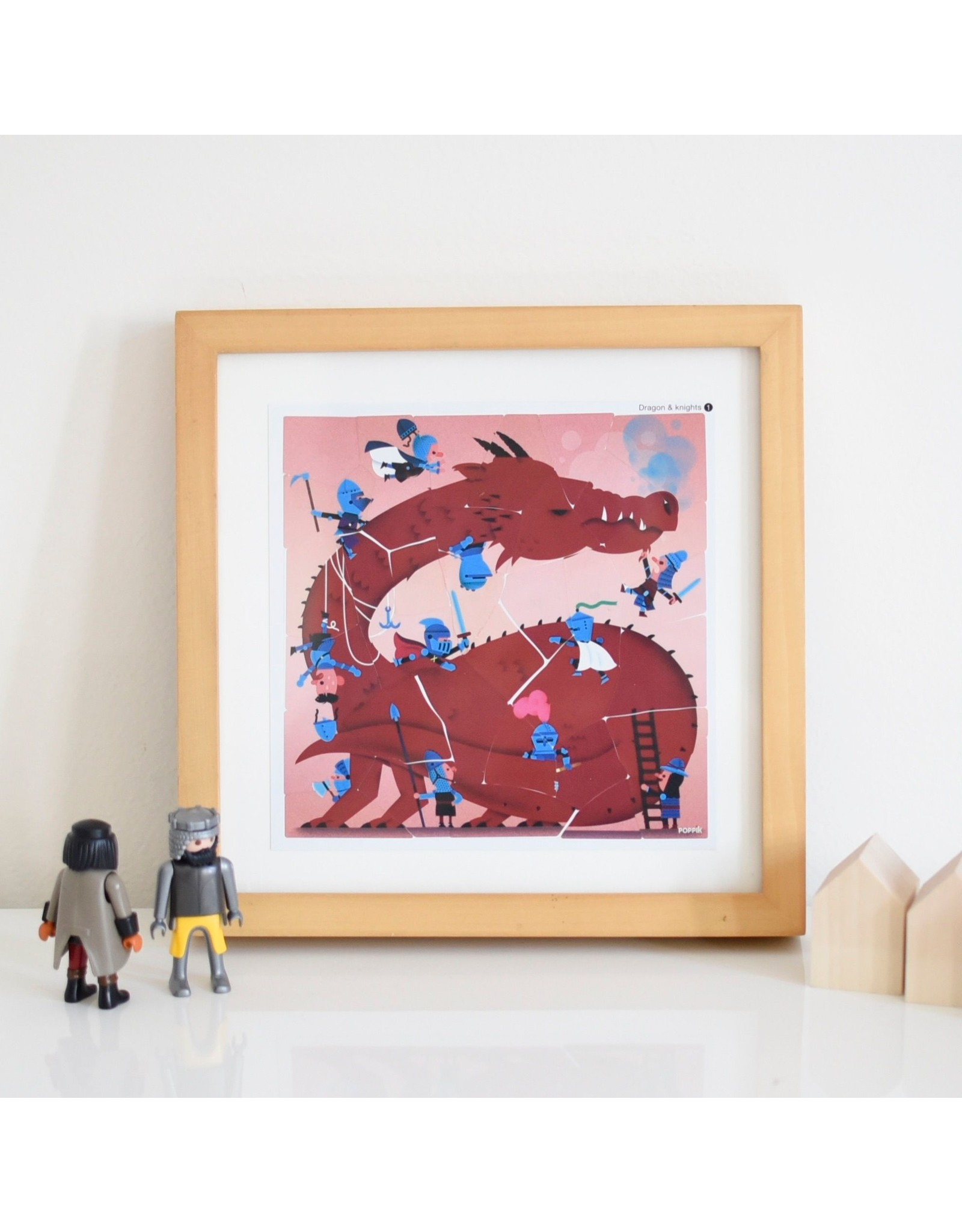 Poppik Dragons & Knights Sticker Puzzles
