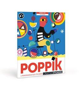 Poppik Modern Art Sticker Panorama