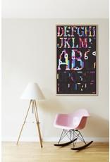 Poppik Alphabet Sticker Poster