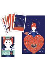 Poppik Queen Sticker Poster
