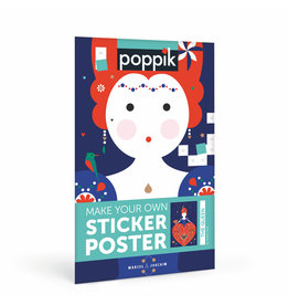 Poppik Queen Sticker Poster
