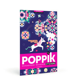 Poppik Constellation Sticker Poster