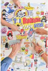 Poppik 100% English Sticker Discovery Poster