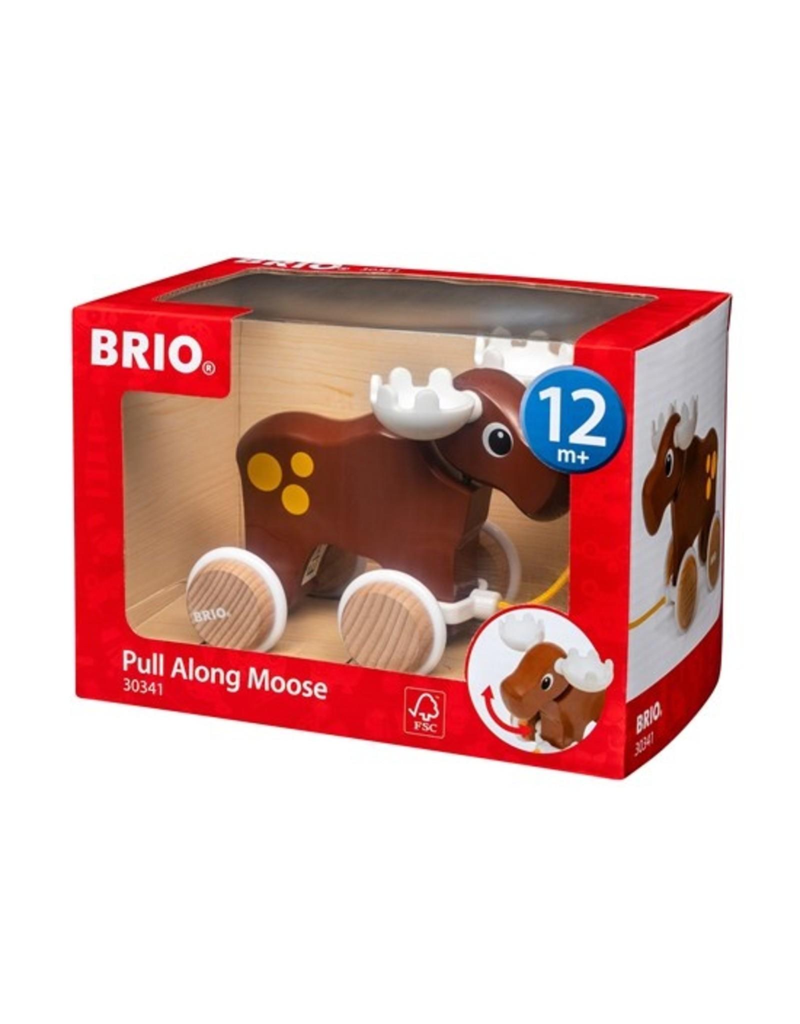 Brio Pull Along Moose