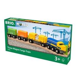 Brio Three-Wagon Cargo Train