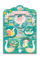 Djeco Ballerina Lovely Badges