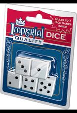 Playmonster Imperial White Dice 5Pk