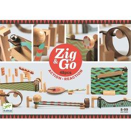 Djeco ZIG & GO - 48 PCS