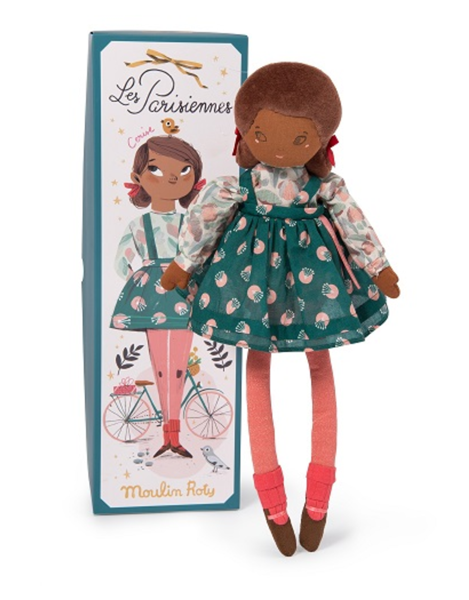 Moulin Roty Parisiennes - Mademoiselle Cerise doll