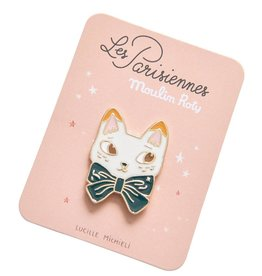 Moulin Roty Parisiennes - Cat Enamel Pin