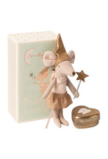 Maileg Tooth Fairy  Big Sister Mouse W. Metal Box