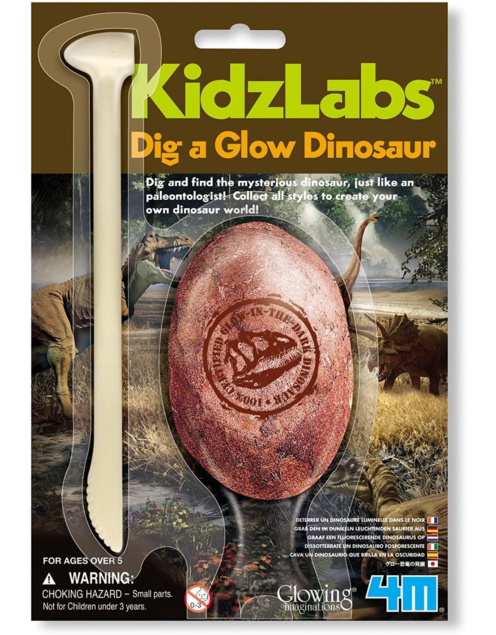 4M Dig A Glow Dinosaur