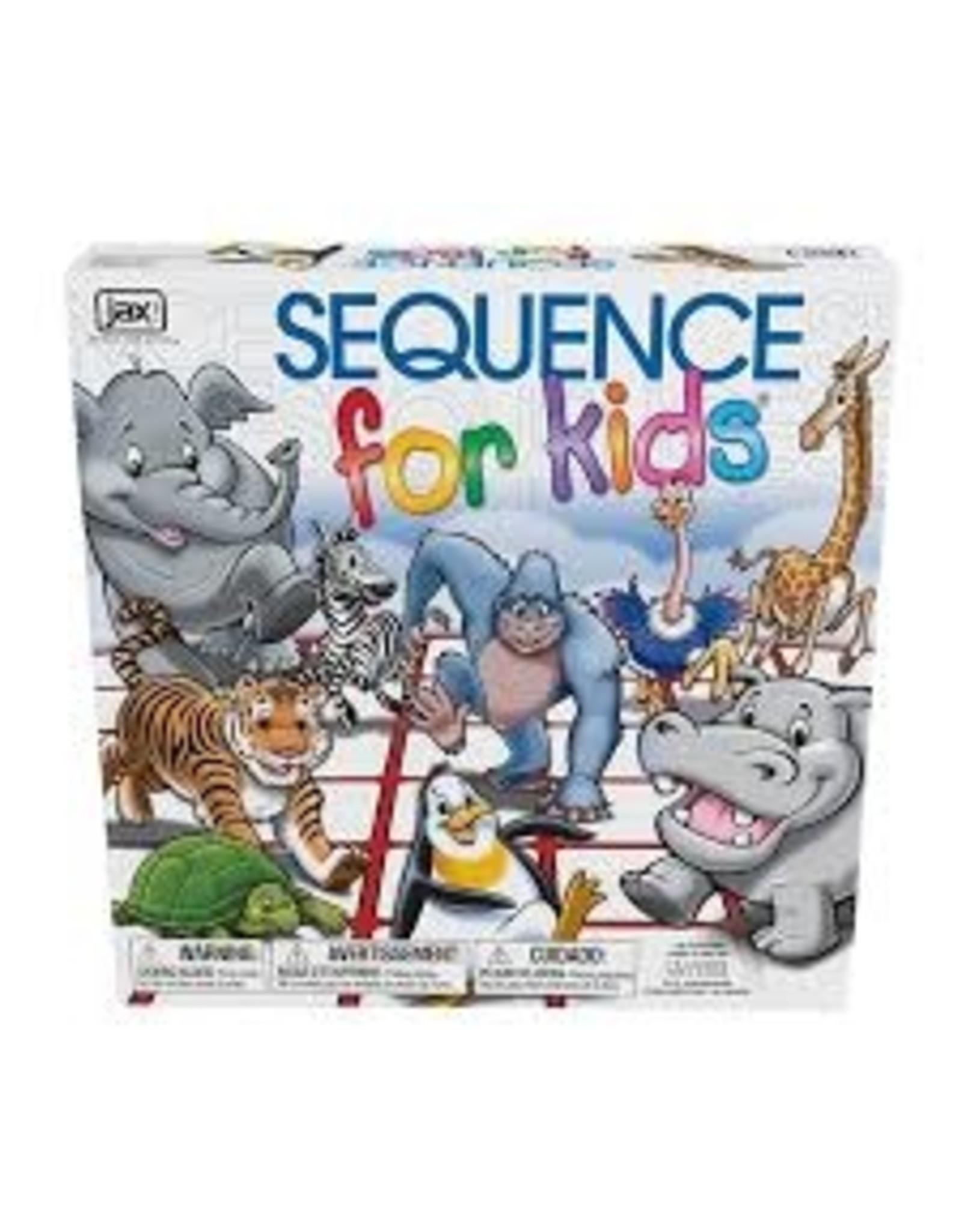 Jax Ltd Sequence for Kids (Trilingual)