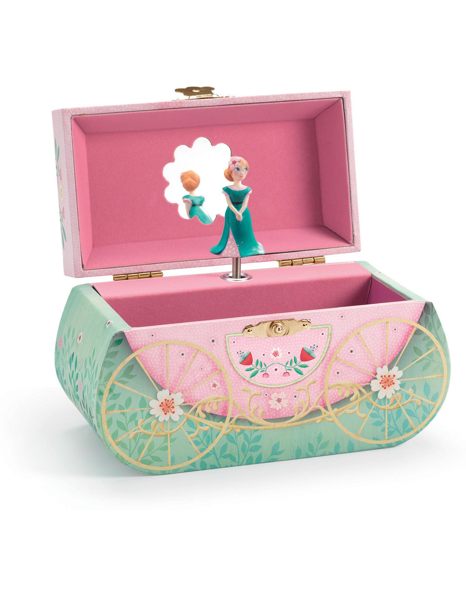 Djeco Carriage Ride Musical Jewellery Box