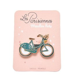 Moulin Roty Parisiennes - Bike Enamel Pin