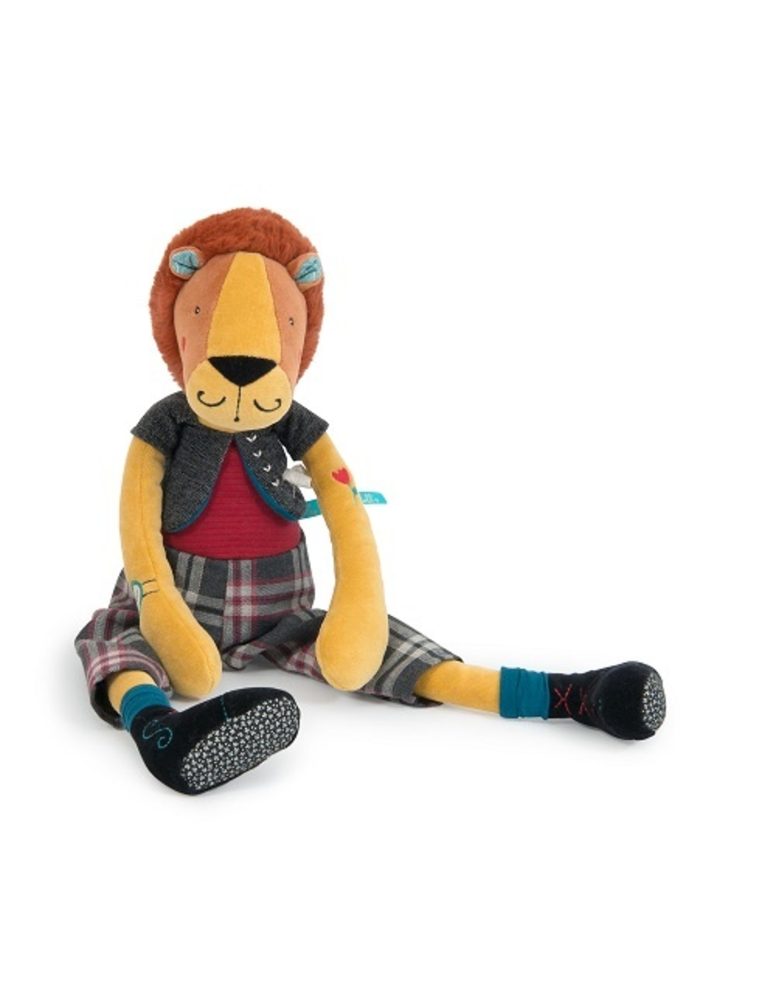 Moulin Roty Broc' & Rolls - Romeo the Lion