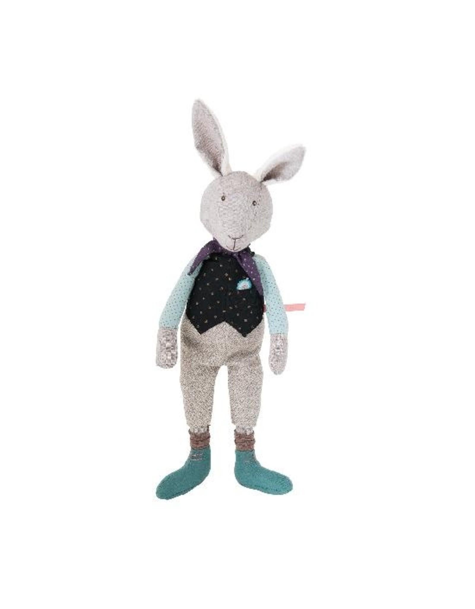 Moulin Roty Il Etait une Fois - forever late rabbit doll (37 cm)