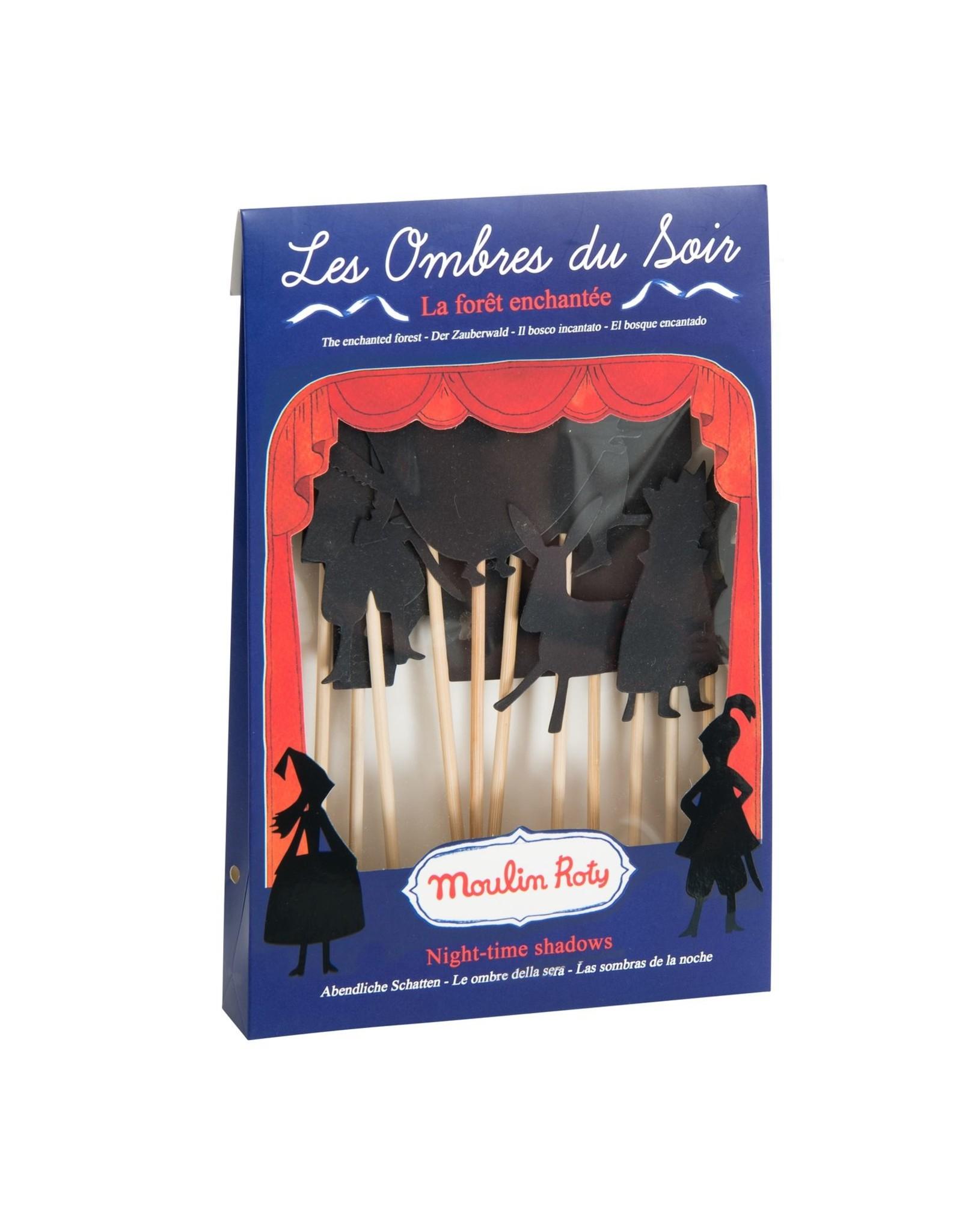 Moulin Roty Histoires du Soir - Enchanted Forest Shadows
