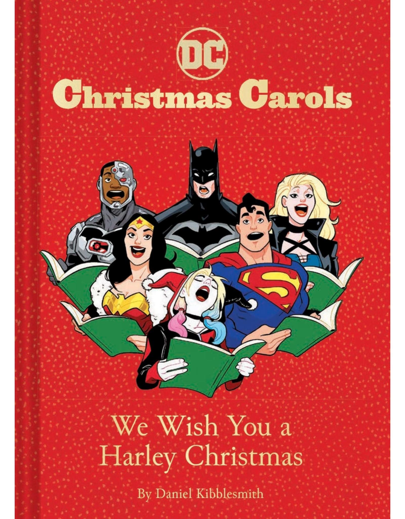 Raincoast Books DC Christmas Carols: We Wish You A Harley Christmas