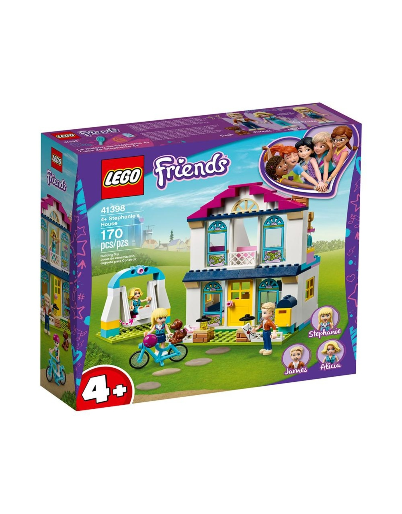LEGO Friends - 41398 - Stephanie's House