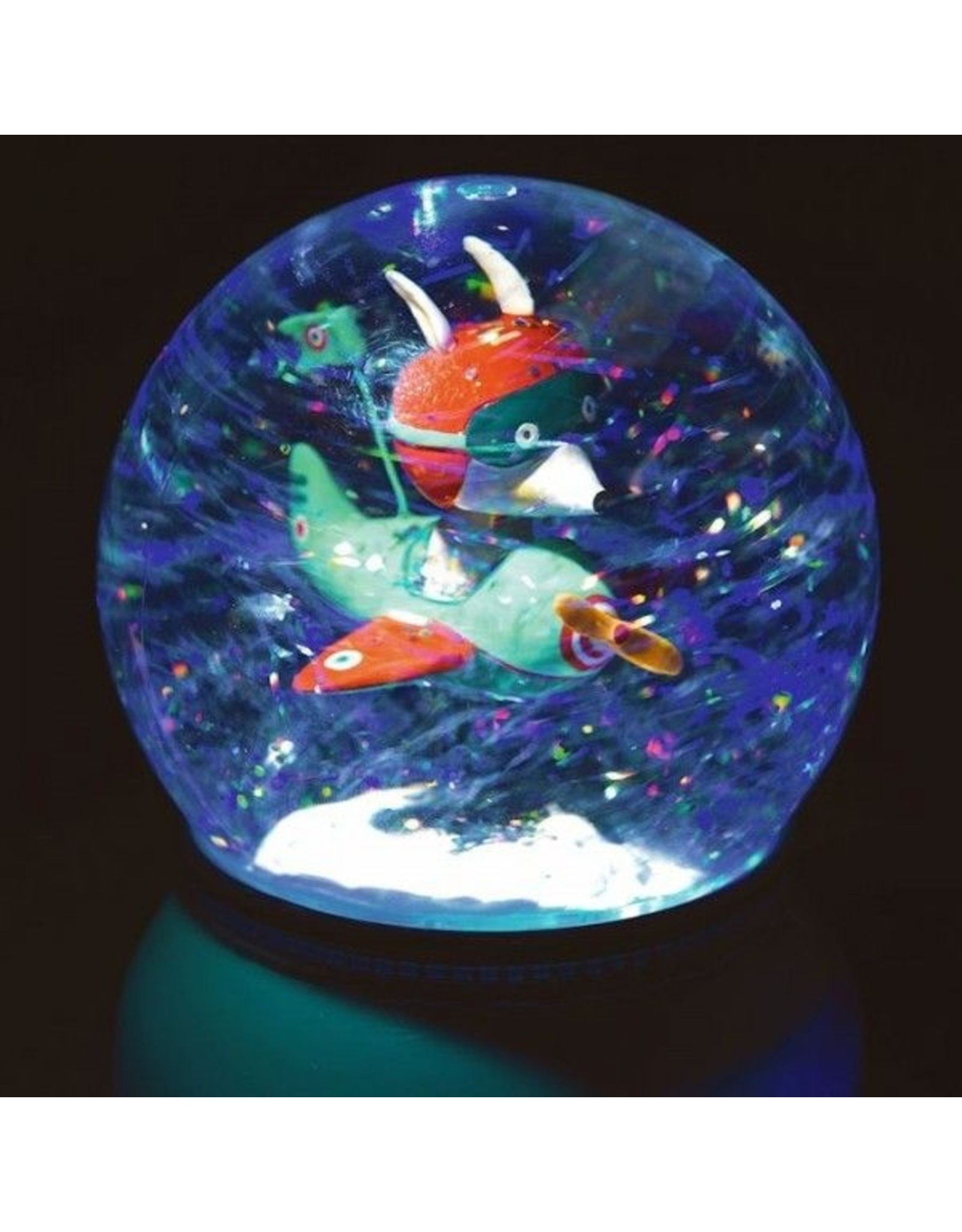 Djeco Plane Nightlight Snow Globe