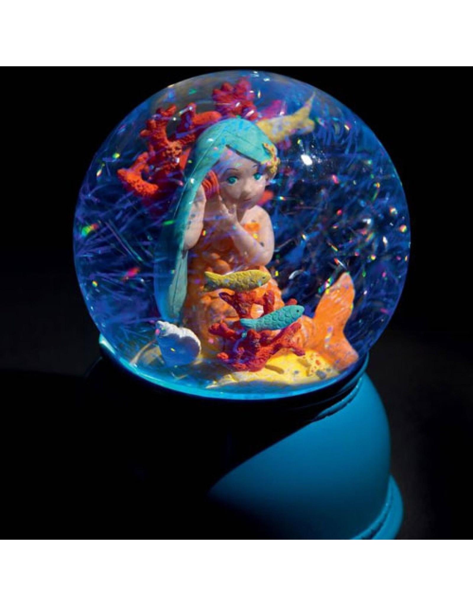Mermaid Nightlight Snow Globe