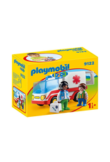 Playmobil PLAYMOBIL 1.2.3. 9122 Rescue Ambulance