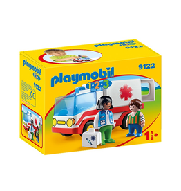 Playmobil PLAYMOBIL 1.2.3. 9122 Rescue Ambulance