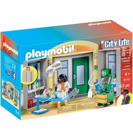 Playmobil PLAYMOBIL 9110   PLAY BOX   HOSPITAL PLAY BOX