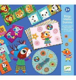 Djeco Djeco Memo Domino Bingo Little Friends