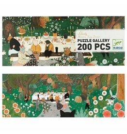 Djeco Liberty  Puzzle Gallery 200pcs