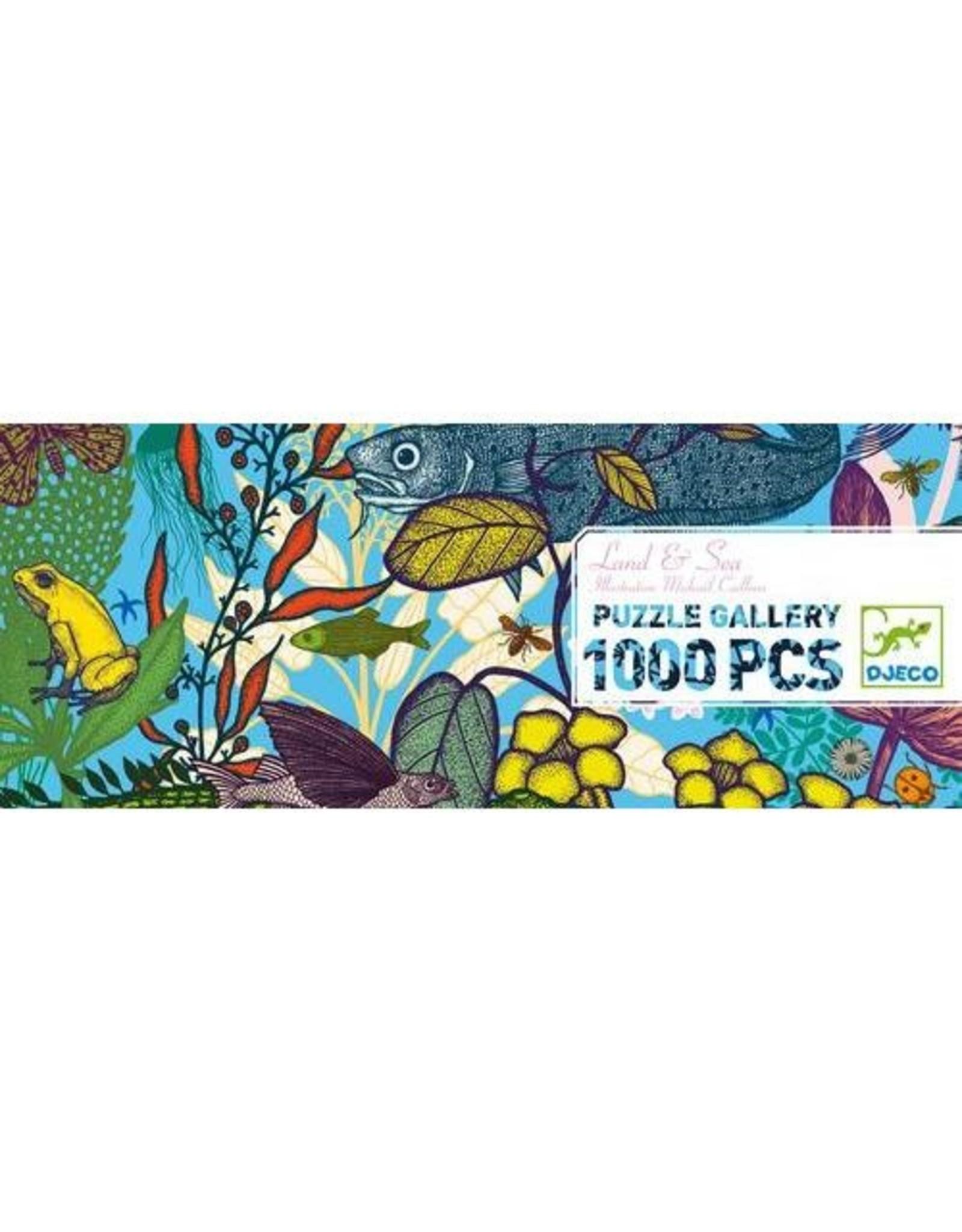 Djeco Land & Sea Gallery Puzzle 1000pcs