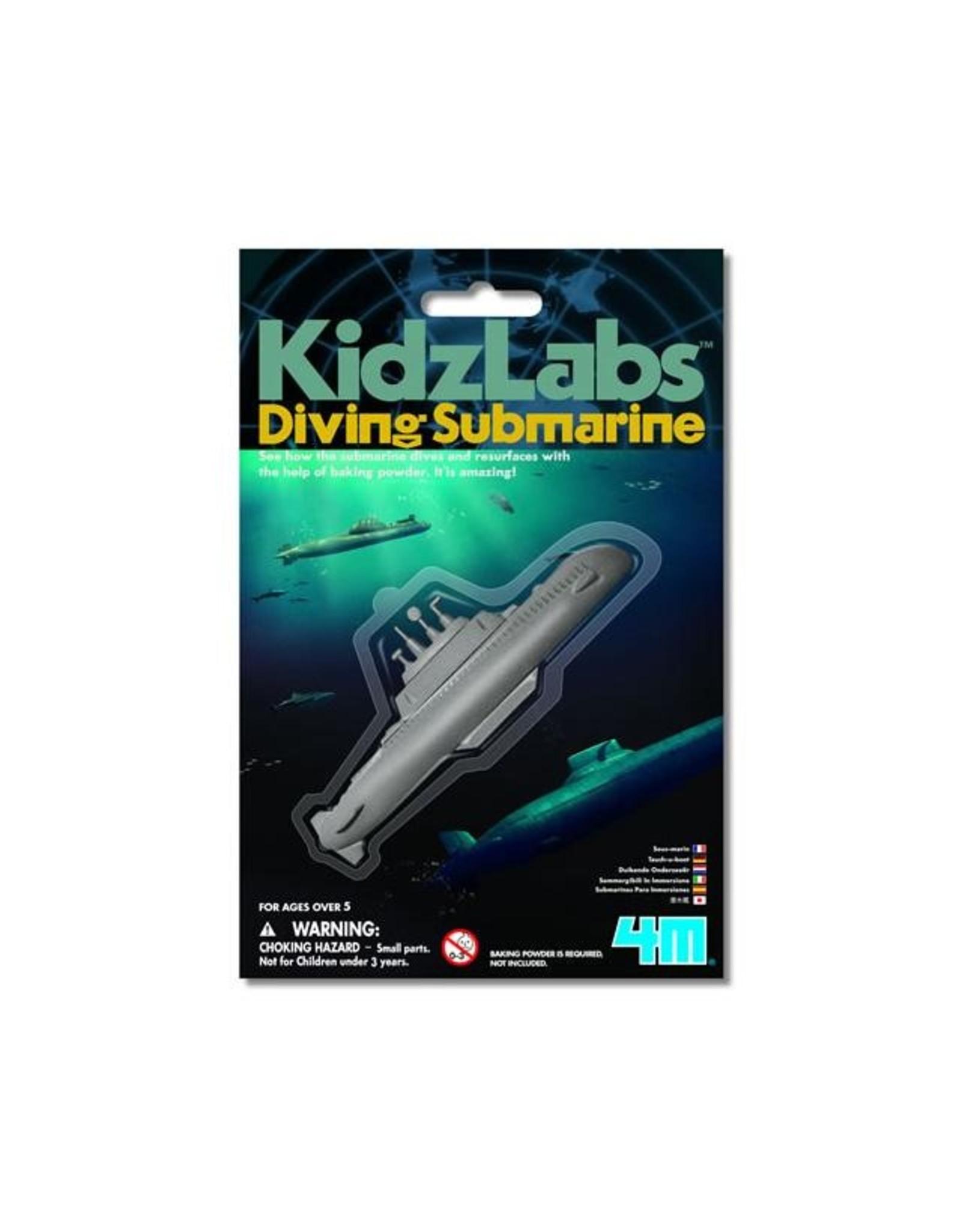 4M Kidz Lab Mini Diving Submarines