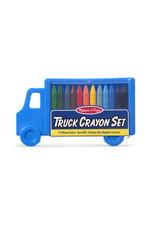 Melissa & Doug Truck Crayon Set