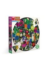 eeBoo Organic Harvest 500 Pc Round Puzzle