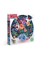 eeBoo Still Life With Flowers 500 Pc Rd Puzzle