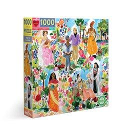 eeBoo Poet's Garden 1000 Pc Sq Puzzle