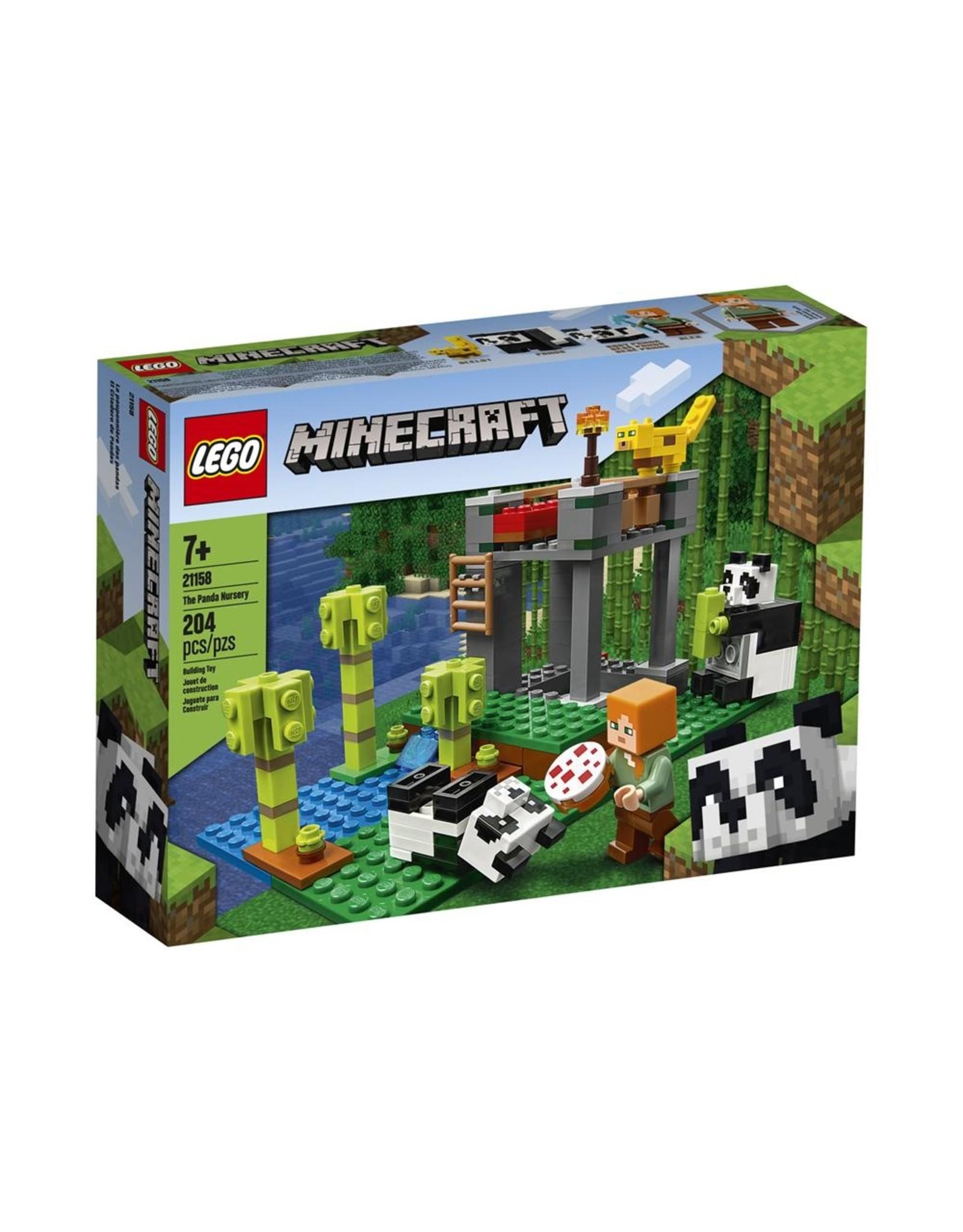 LEGO MINECRAFT 21158 THE PANDA NURSERY