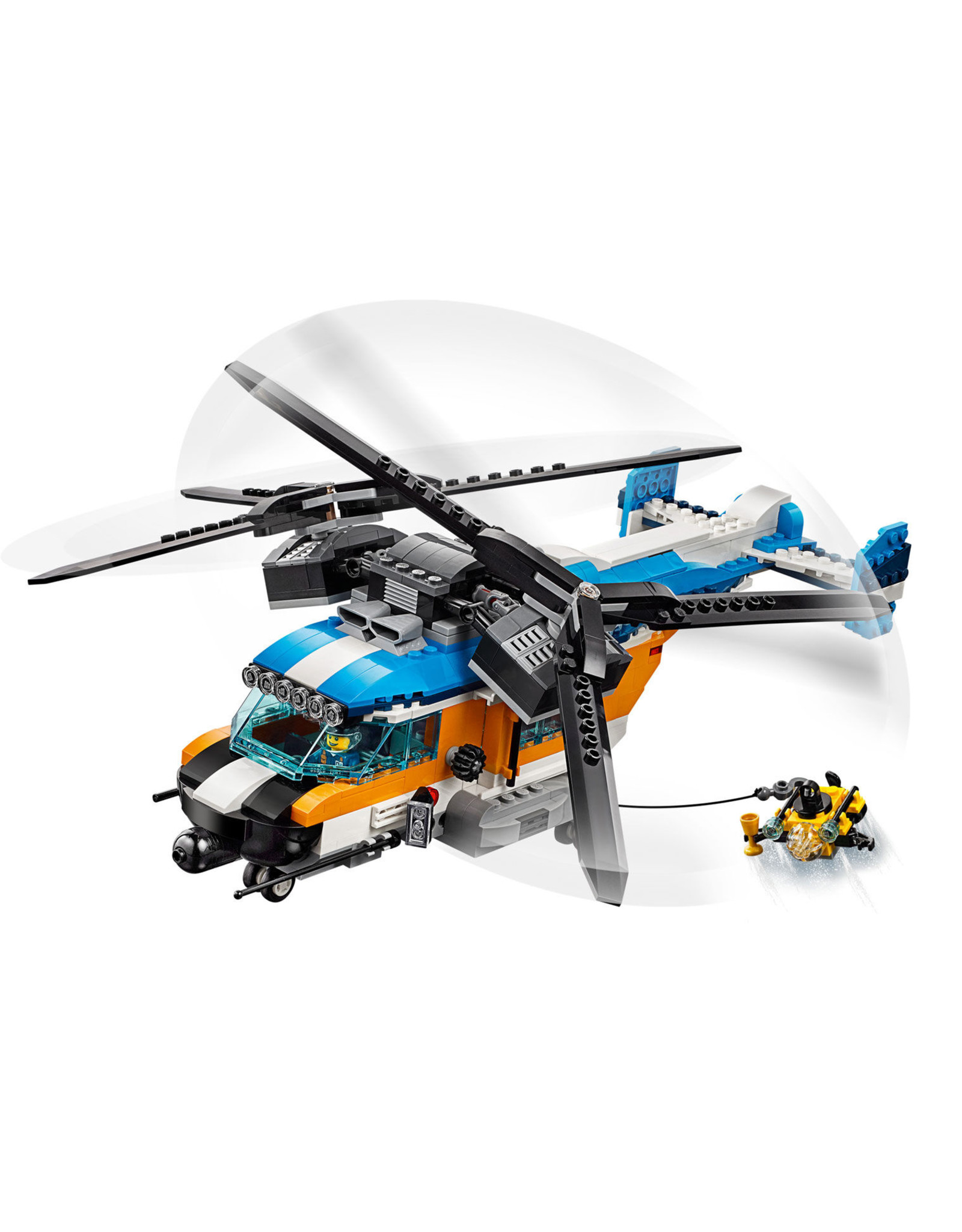 LEGO Creator - 31096 Twin-Rotor Helicopter
