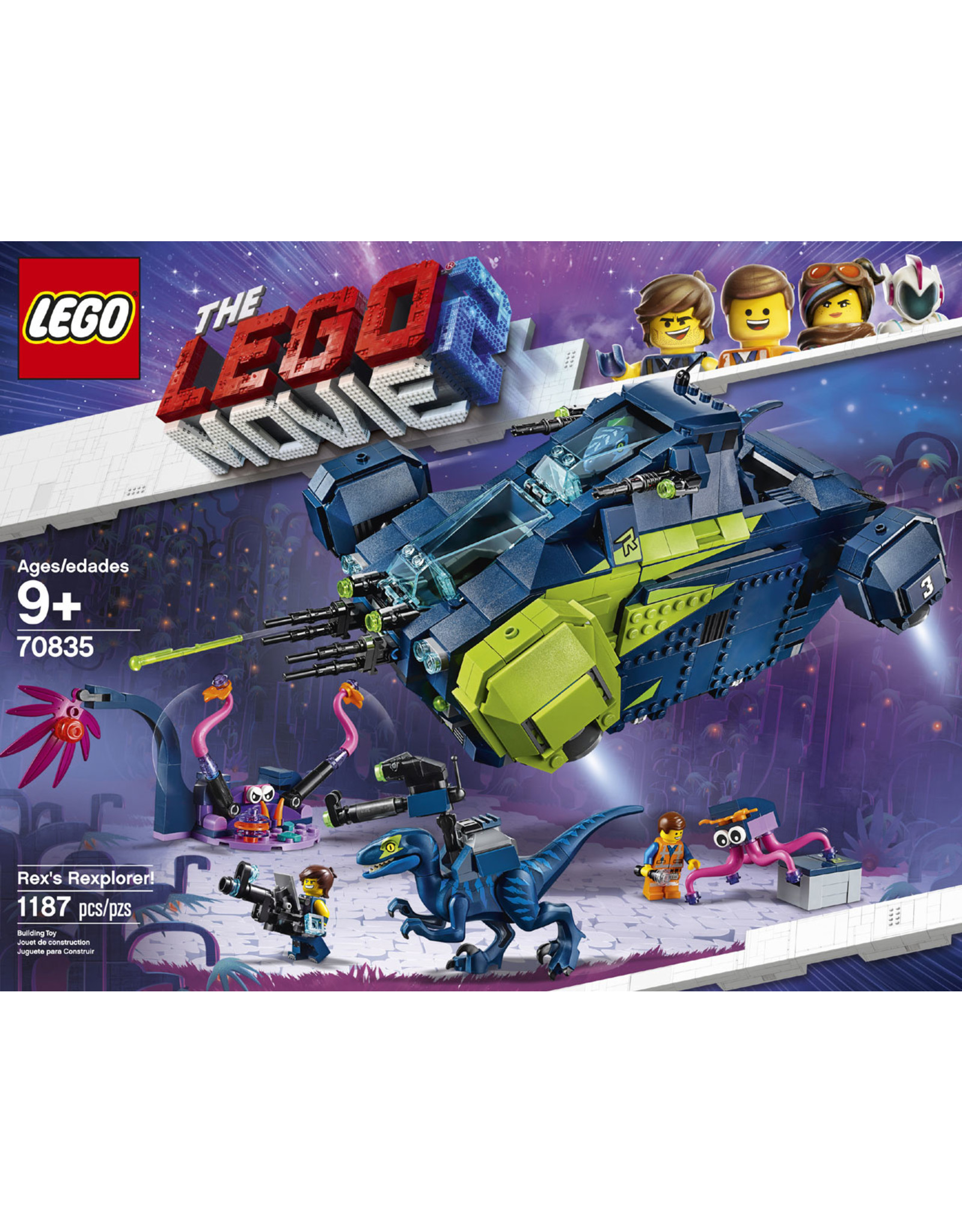 LEGO Lego Movie 70835 Rex's Rexplorer